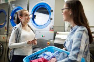 Laundry Room Traffic Jam